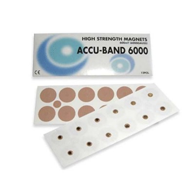 Accu-Band High Strength Magnets 6000 Gauss (12 Per Pack)