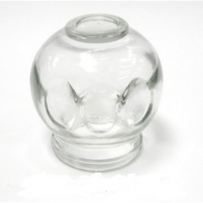 Glass Fire Cupping Jars With Finger Grips