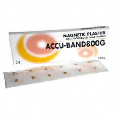 Accu-Band 800 Gauss (24 Per Pack) Gold Plated