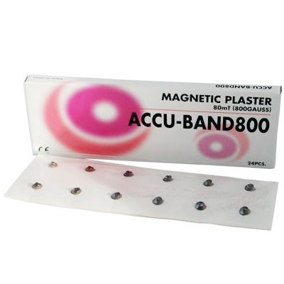Accu-Band 800 Gauss (24 Per Pack) Non-Plated