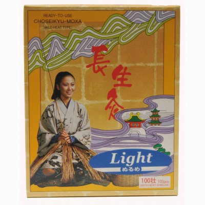 Choseikyu Self Adhesive Moxa Light – 100pcs