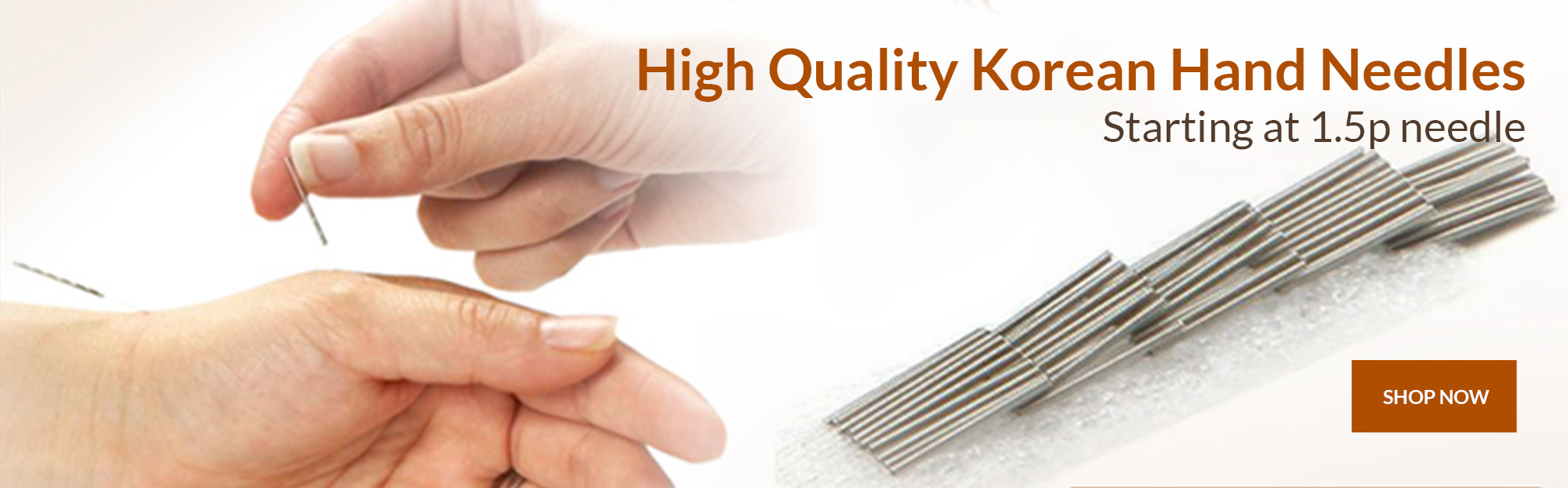 High Quality Korean Hand Needles